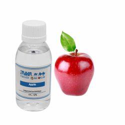 Pg/Vg basado concentrado sabor manzana para E-Liquid