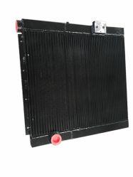 Intercambiador de calor aire más fresco del radiador de refrigeración de aceite del compresor del sistema hidráulico