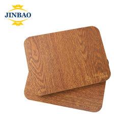 金宝高品質塩ビフォーム板パターン木材 多くのスタイル 1220X2440mm 0.3-0.9 の販売用密度