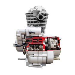 Unieke 125cc-motormotor / 100cc-motormotor / CB 125cc-motorfiets Motor / 100cc-fiets