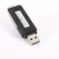 소형 8GB/16GB USB 펜 섬광 드라이브 디스크 디지털 휴대용 소형 기록 딕터폰 1 70 시간에 대하여 오디오 녹음기 2