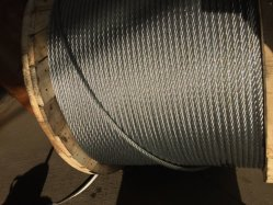 15.88mm cable de Acero Galvanizado El Cable de acero de 6x19 Core