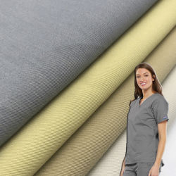 Антимикробная ткань Agion 50 раз от больницы «ДХВАТИР» 99 Полиэстер Rayon спандекс 4 способа стретч тканые Scrubs ткань Triblend Однородность