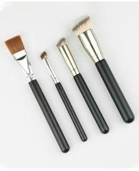 Fashion Makeup Ajuste da escova para corar em 4PCS Perfessional Escova de fundação