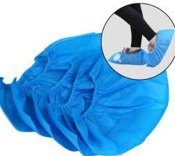 Qualidade superior de cor azul CPE no interior da tampa da sapata descartáveis do fornecedor profissional