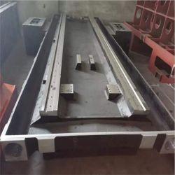 로스트 폼 캐스팅 주조 철 기계 선반 침대/그레이 캐스트 다리미 기계 도구 베이스