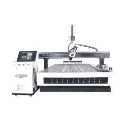 4 المحور 1325 2130 جهاز توجيه وحدة التحكم التلقائي في درجة الحرارة جهاز التفريز CNC آلات العمل بالخشب الآلية ذات القنوات الخشبية CNC