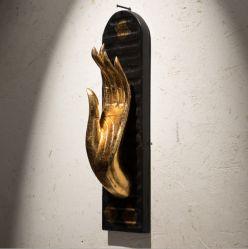 Графическое оформление Morder Gold правой стене искусства для использования внутри помещений и оформление