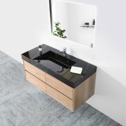 Kkr Veining текстуры мрамора твердой поверхности двойной раковиной в ванной комнате туалетным столиком с раковиной 6,08