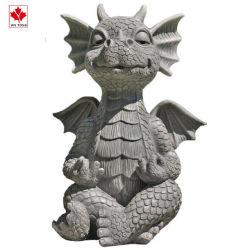 Cartoon Crafts resina pensare Dragon Figurine regali ornamento