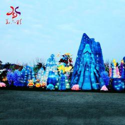 Chino tradicional colorido Tamaño Personalizado el Festival de iluminación LED linternas