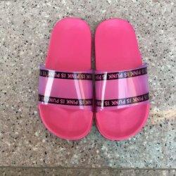 Pistoni della spiaggia dei sandali del PVC delle donne di modo di alta qualità per estate (HX203-3)