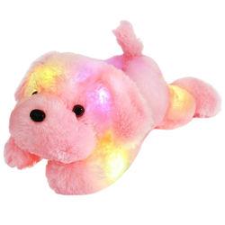 45cm programável LED recheadas brinquedo Animal acender Bonitinha Plush cães para venda