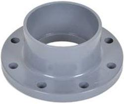 Высокое качество пластмассового фланца UPVC трубный фитинг переходника с фланцем UPVC фланец клапана стандарта DIN UPVC двухстворчатый клапан фланец для водоснабжения Pn10