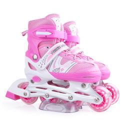 도매 디자인 야외 조절식 스케이트 롤러화 어린이용 전문 그리고 여성용 롤러 스케이트