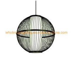 Lâmpada de bambu, Pendente de bambu Lâmpada (WHP-373)