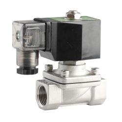 """Пневматический Xhnotion 2n Series 2 путь из нержавеющей стали нормально закрытый электромагнитный клапан с G1/2"""" поток"""
