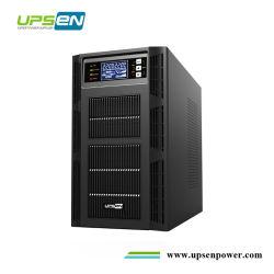高周波ダブルコンバージョンオンライン UPS Power 6kVA 10kVA ( PF1 、 ePO 、 RS232 、 USB 、調整可能 AC 充電器 1A-12A )
