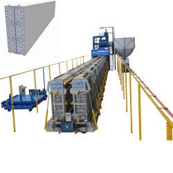 EPS 거품 시멘트에 의하여 미리 틀에 넣어 만들어지는 벽면 생산 라인 경량 구체적인 샌드위치 벽면 기계