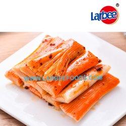 Закуска из морепродуктов кусочка крабовых палочек краб хлопья