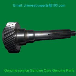 ناقل الحركة S6-80، العمود الأول لترس Yutong higer Kinglong قطع غيار الناقل