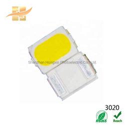 低く明るく涼しく白い発光ダイオード20mA黄色いレンズ3020 LED SMD
