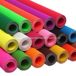 ハンドメイド材料DIYのためのカラー段ボール紙