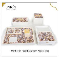 Accesorios para baño de Hotel de acrílico profesional Productos accesorios para baño de perlas