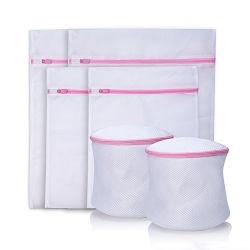 الصين صاحب مصنع بيع بالجملة رخيصة مستشفى بوليستر شبكة يحمي ملبس داخليّ مادّيّة مغسل شبكة حقيبة مجموعة