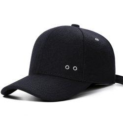 تصميم جديد بدون شعار موسم شتاء خريف ميلتون مع الصوف فارغ قبعات البيسبول قبعة قبعة عادية بالخارج