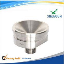 스테인리스 또는 알루미늄 또는 금관 악기 자동차 부속 연결관을 도는 Precison CNC 기계로 가공 주문품 CNC