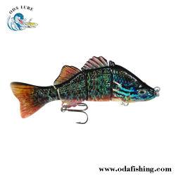 """4セクション低音の(7 """")釣魅惑の製造のSwimbait釣魅惑のWobberの釣餌の人工的な釣り道具の釣餌"""