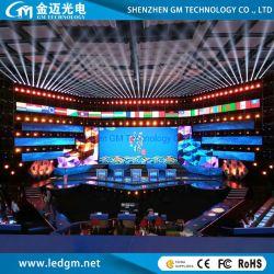 Schwachstrom-Verbrauch 4800Hz innerhalb miete LED-Bildschirmanzeige des Verbrauch-P2.97 P3.91 P4.81 der Innen, Stadium/Messe video farbenreiche LED-Bildschirmanzeige