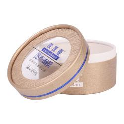 贅沢なボール紙のペーパー丸型の装飾的なクリームはWindowsのふたが付いているボックスを包む圧縮されたマスクを震動させる