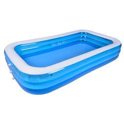 [ثري-رينغ] أطفال قابل للنفخ بركة قابل للنفخ [سويمّينغ بوول] ماء لعب قابل للنفخ