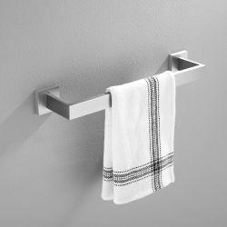 Barra di tovagliolo di lusso chiara spazzolata del hardware della stanza da bagno della barra di tovagliolo della cremagliera di tovagliolo per gli accessori