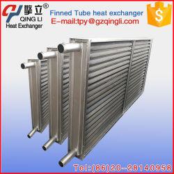 Bobine à ailettes en aluminium de haute efficacité échangeur thermique du refroidisseur