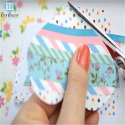 L'abitudine impermeabile ha stampato la stagnola di oro colorata Washi appiccicoso di nastro di carta