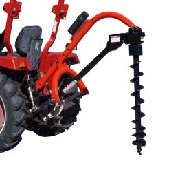 A China Post coveiro do orifício do trator da marca do fabricante da máquina Tractor-Mounted Pole-Star industrial 650 3-PT Orifício Post Digger W/Opcional combinações do sem-fim