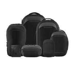 Report sur la poitrine Messenger Bag Sac à dos pliable organisateur de voyages ensemble de la série