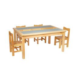 多機能の学び、遊ぶブロック木表