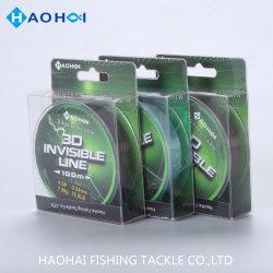 100/150/300m 3D Ligne Invisible monofilament de ligne de pêche