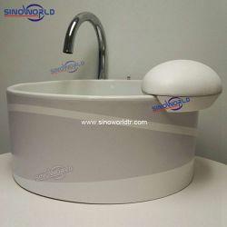 صالون أكريليكيّ كهربائيّة تدليك فقاقيع تزلّج على الماء قدم غسل تدليك حوض قصع