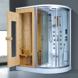 蒸気のシャワー室のサウナの安いサウナの小屋