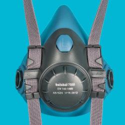 En140シリコーンの再使用可能な半分の覆面部のマスクの保護ガスマスク