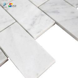 벽과 지면을%s 훈장 부엌 그리고 침실을%s 백색 혼합 색깔 장방형 도와 모자이크 예술의 대리석 모자이크