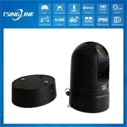 كاميرا أمان PTZ للرؤية الليلية في حالات الطوارئ خارج تقنية 4G Smart اللاسلكية لوحة الترخيص LPR التعرف على الوجه بدقة 1080p HD Video 30 بصري كاميرا الزوم