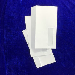 OEM на заказ печатной бумаги конверт для бизнеса с помощью окна