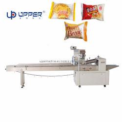البسكويت الآلي / النودلز / لفائف / الخبز الخفي الخبز الخفي المنتجات الطعام تدفق أفقي تخريد ماكينة التعبئة