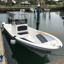 Liya 14 a 25 pies de los barcos de pesca de fibra de vidrio y Panga Barco